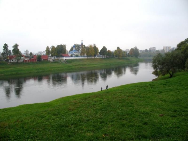 Река Днепр в Орше