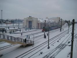 Железнодорожный вокзал города Орша