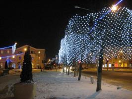 Новогодний город Орша