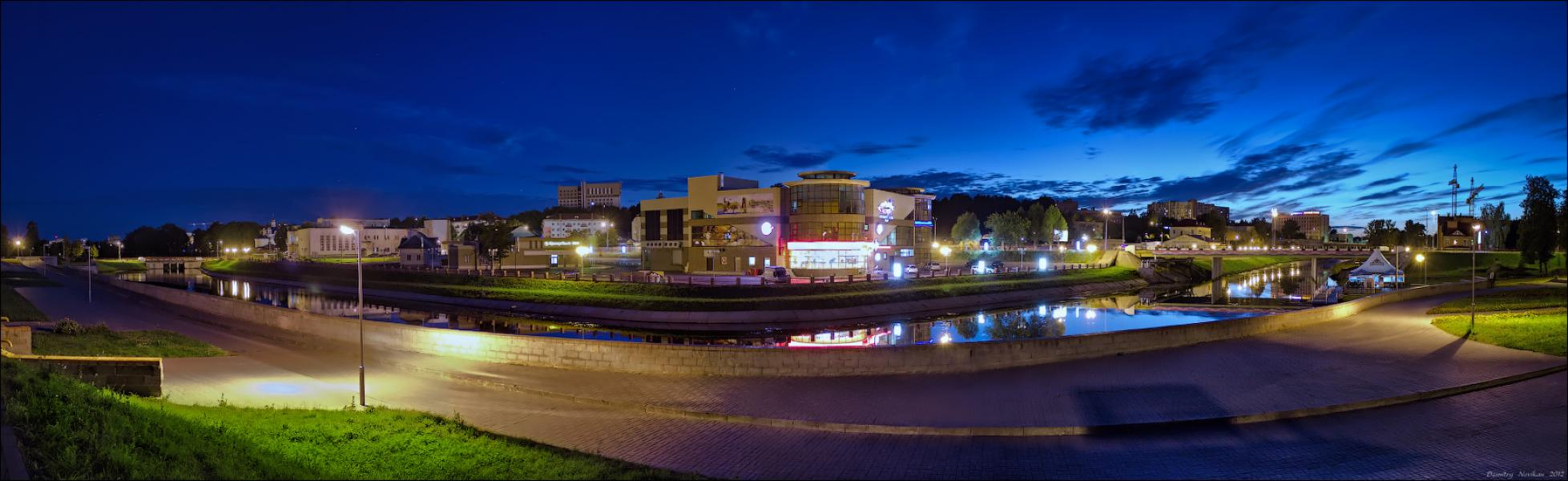 Вечерняя панорама Орша