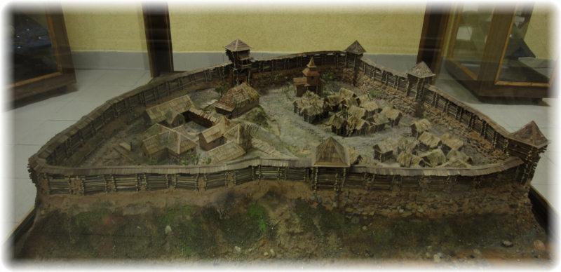 Макет Оршанского замка.